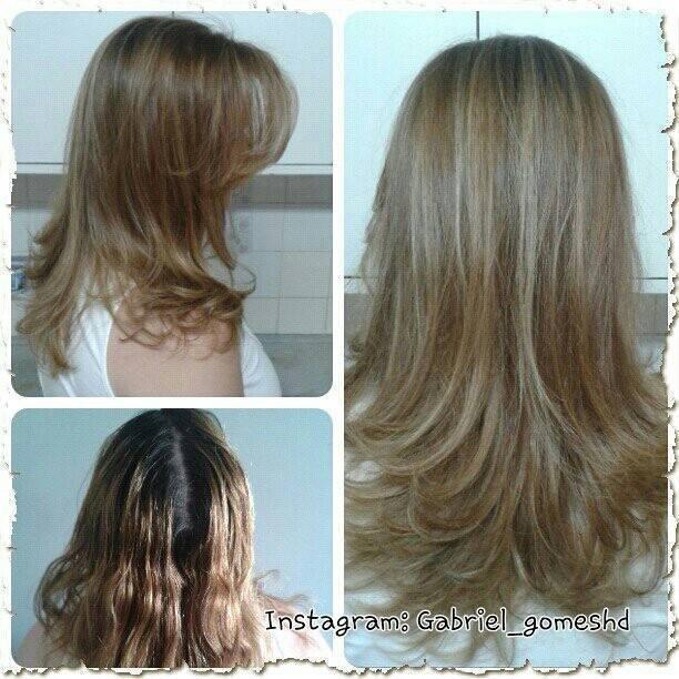 Serviço de coloração, mechas, corte e modelagem cabeleireiro(a)