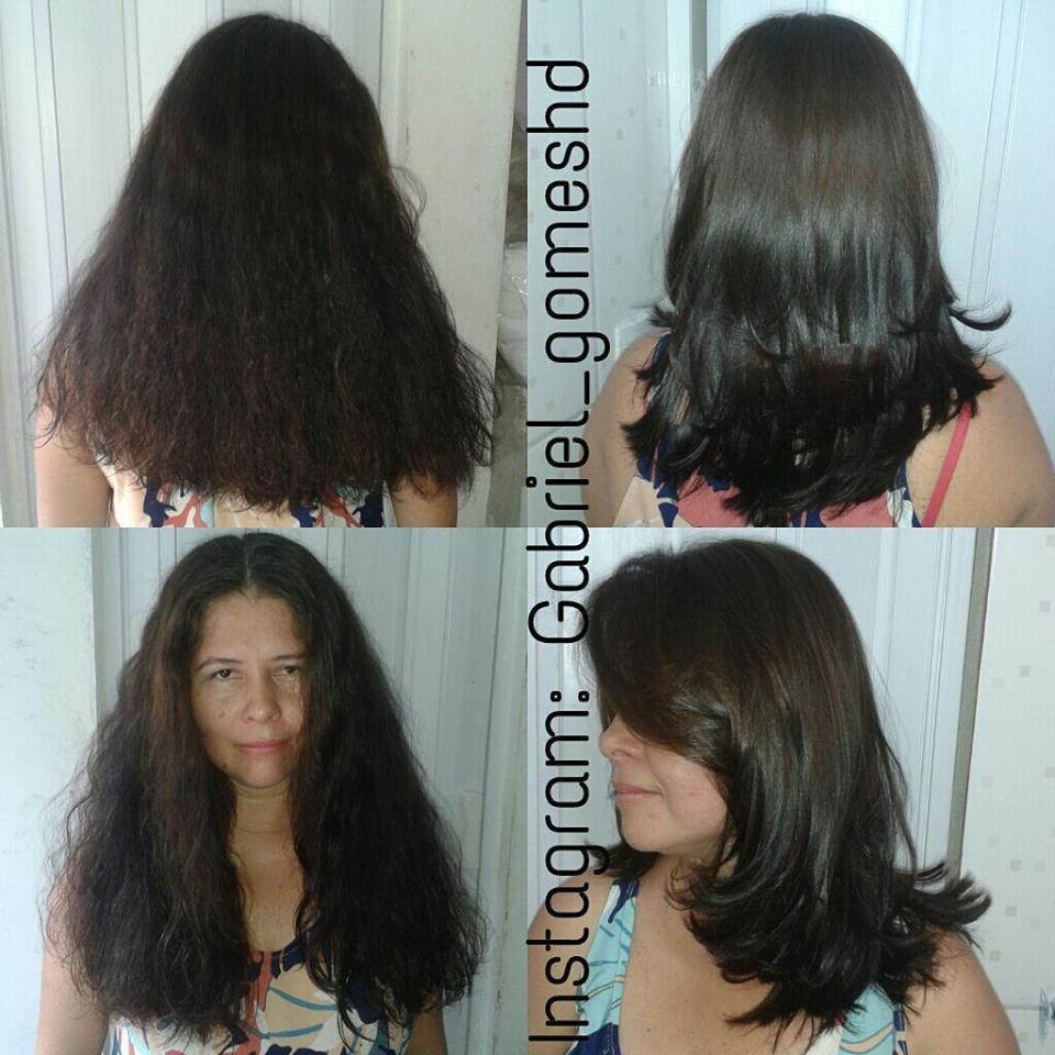 Alisamento termodisciplinativo e corte cabeleireiro(a)