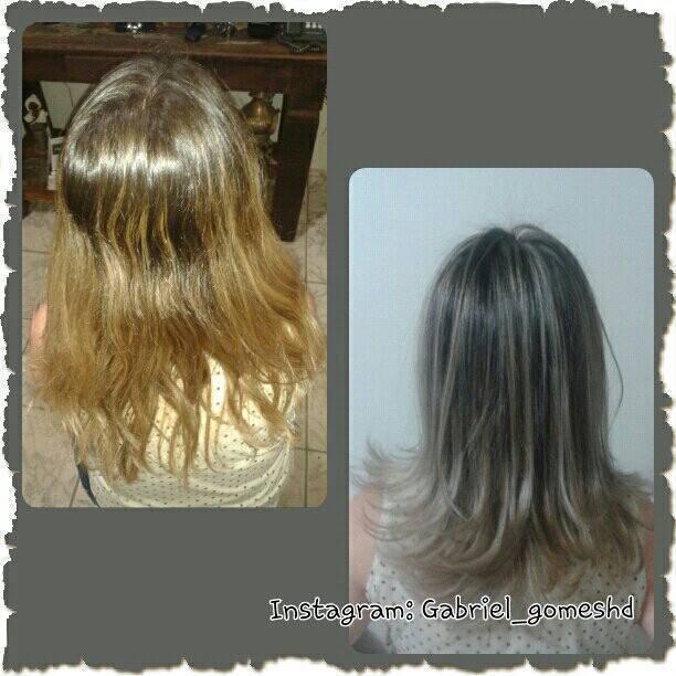 Mechas e neutralização de reflexos quentes. cabeleireiro(a)