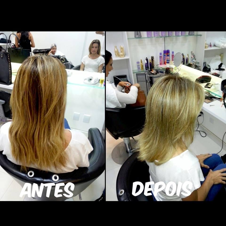Serviço de coloração e mechas cabeleireiro(a)