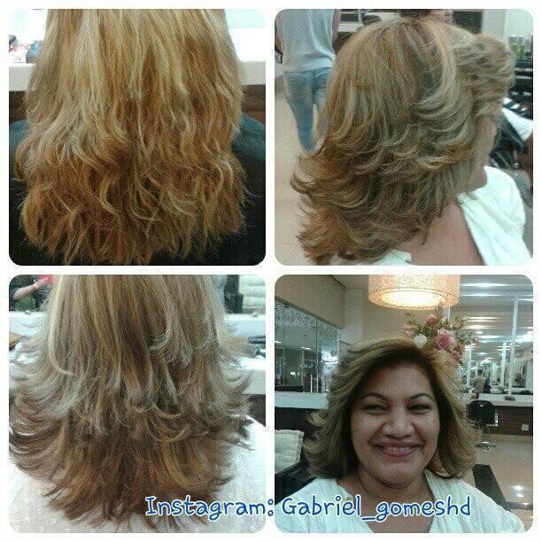 Correção de cor, corte e modelagem cabeleireiro(a)