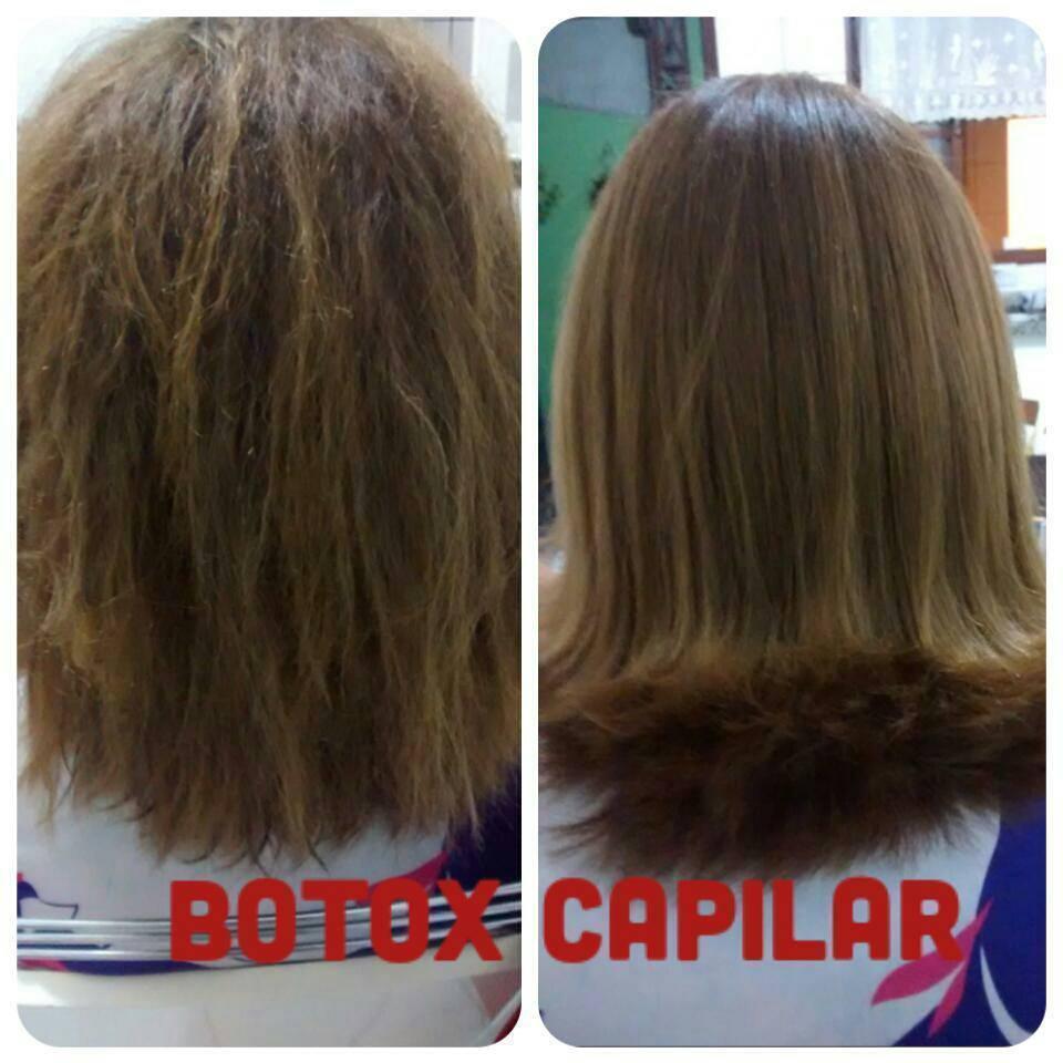 Botox Capilar Reposição de massa, Aplicação, escova e piastra. auxiliar cabeleireiro(a)