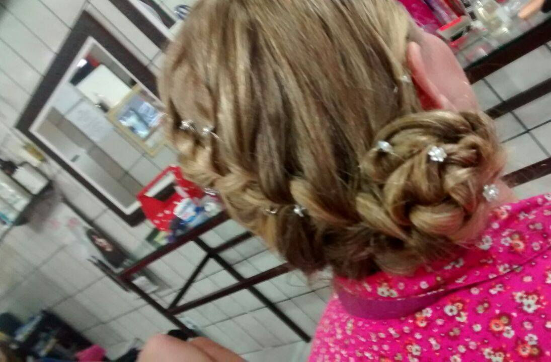 penteado escova, e trança cabeleireiro(a)