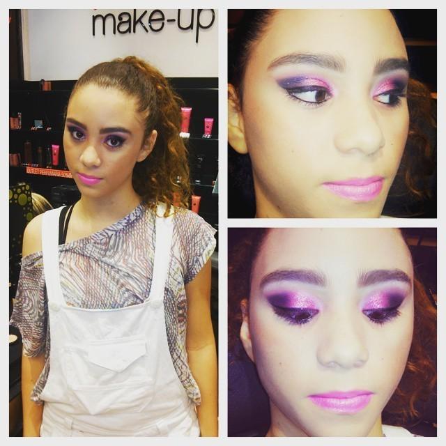 Minha modelo! maquiador(a)