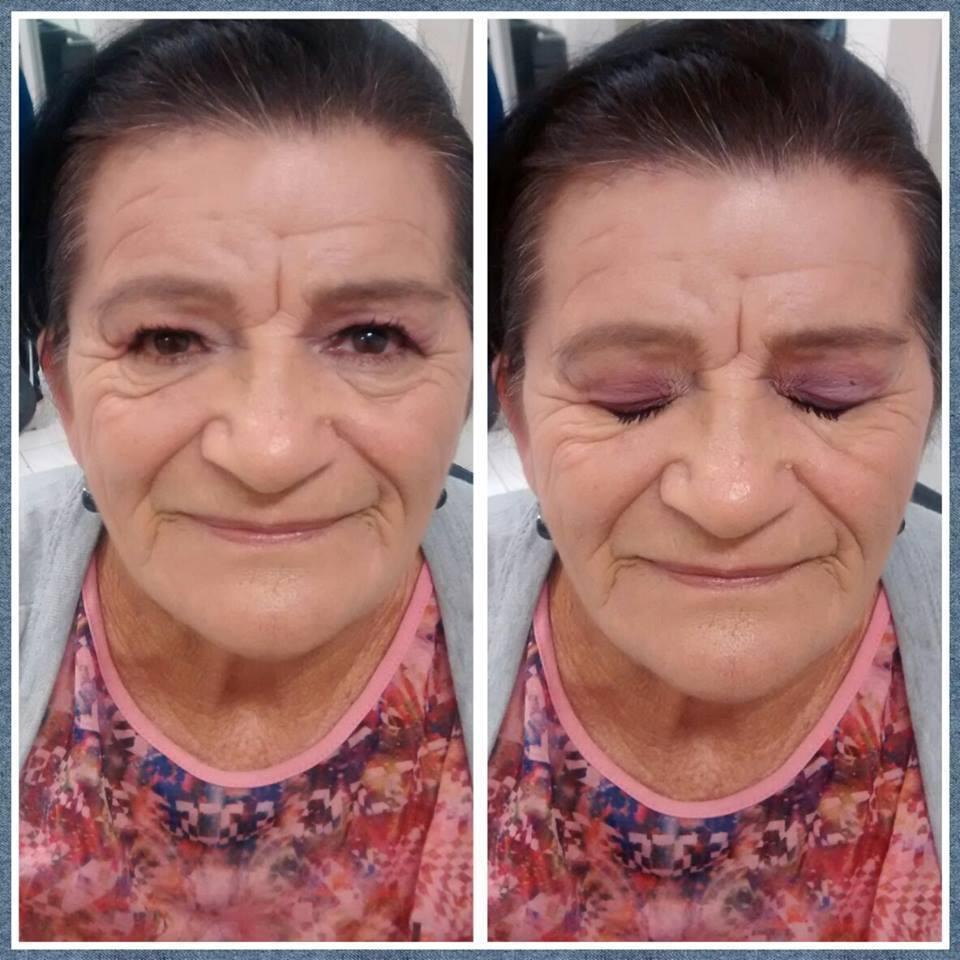 maquiagem em pele madura maquiador(a) esteticista designer de sobrancelhas