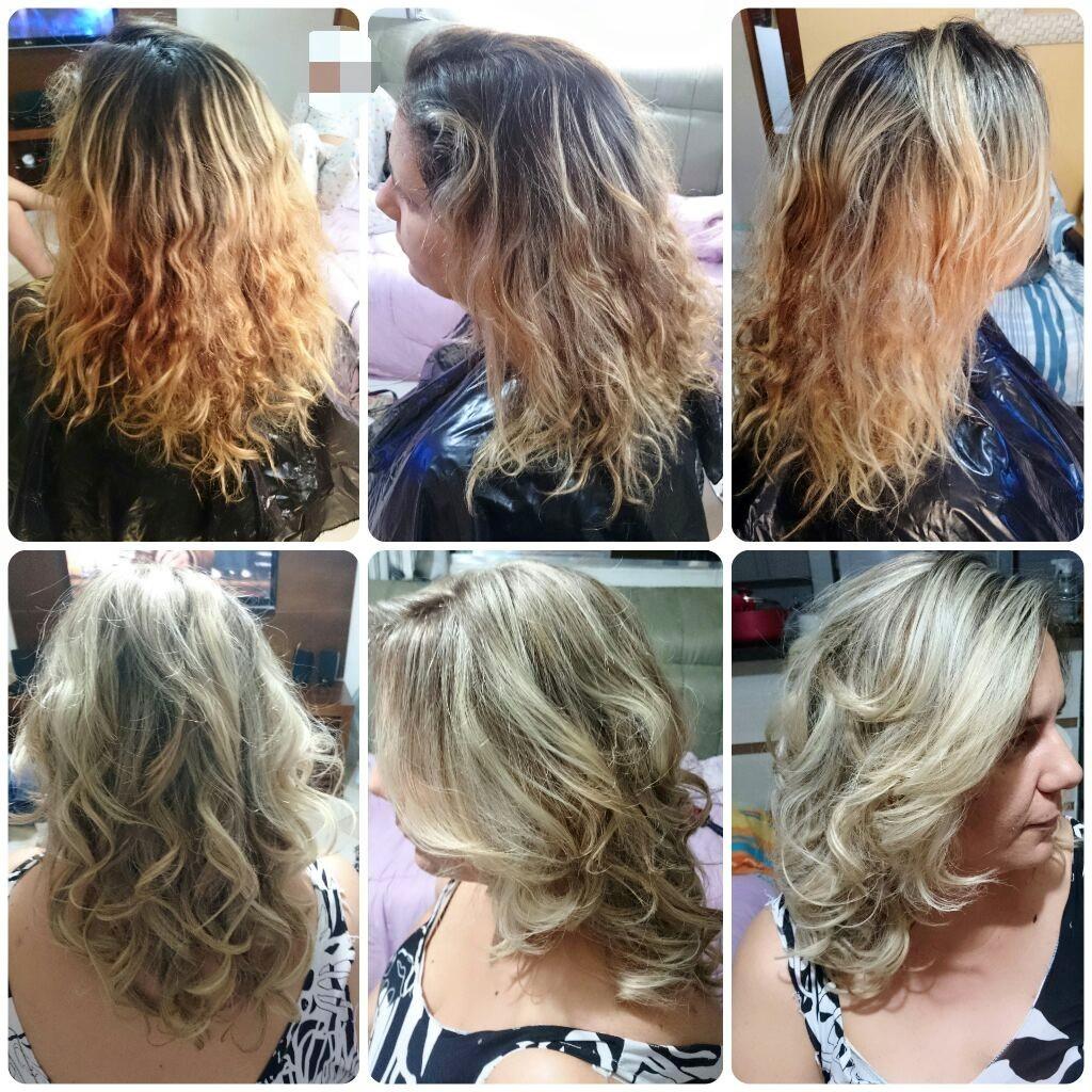 Correção de luzes #luzes #ombrehair #ombrehighlights #blonde #hair #loirodossonhos #job #transformation #transformacao #cabelos #cabelosloiros  #loirossaudaveis #loirosdivos #loirosdourados #loirosamanteigados #loirosperolados #loirosplatinados cabelo cabeleireiro(a) maquiador(a) designer de sobrancelhas
