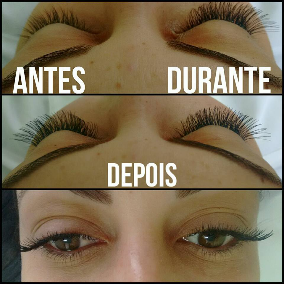 Alongamento de cílios  esteticista maquiador(a) depilador(a)
