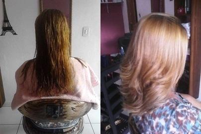 corte ,matização e escova. cabeleireiro(a)