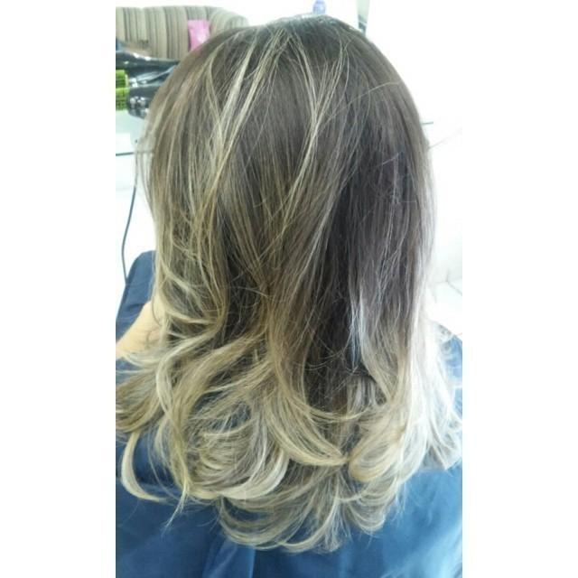 mechas ombre hair cabeleireiro(a) maquiador(a)