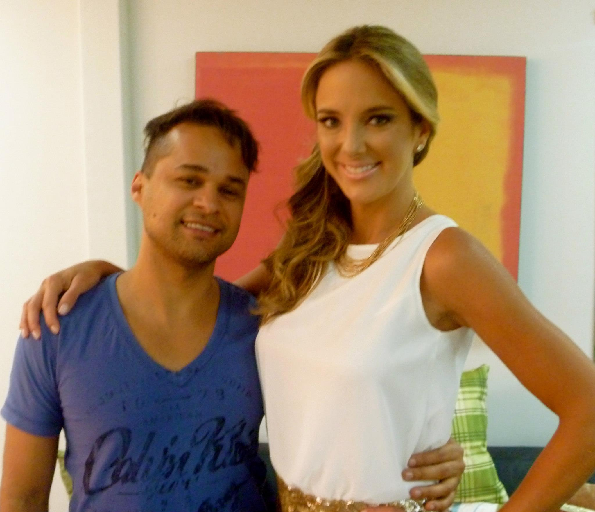 nex top model tv record cabelo /make  Ticiane  maquiador(a) cabeleireiro(a)