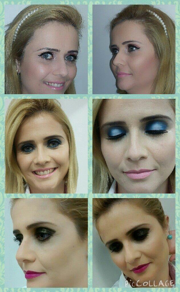 Debutante 3 looks.  designer de sobrancelhas maquiador(a) consultor(a) em imagem