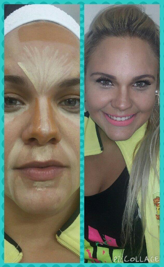 Pele de Contorno Luz e Sombra  designer de sobrancelhas maquiador(a) consultor(a) em imagem