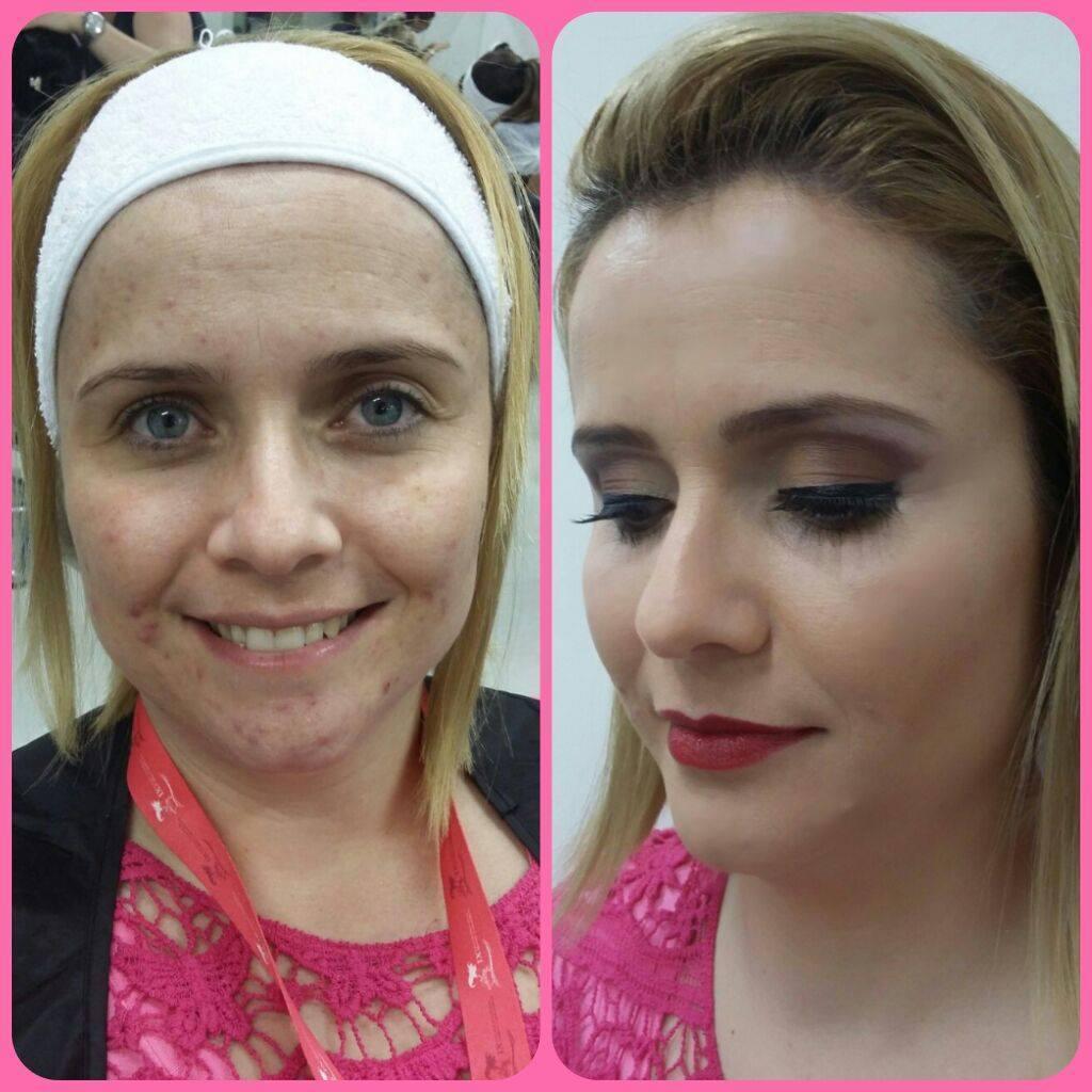 Madrinha  designer de sobrancelhas maquiador(a) consultor(a) em imagem