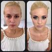 Antes e depois - Noiva