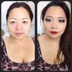 Antes e depois - oriental
