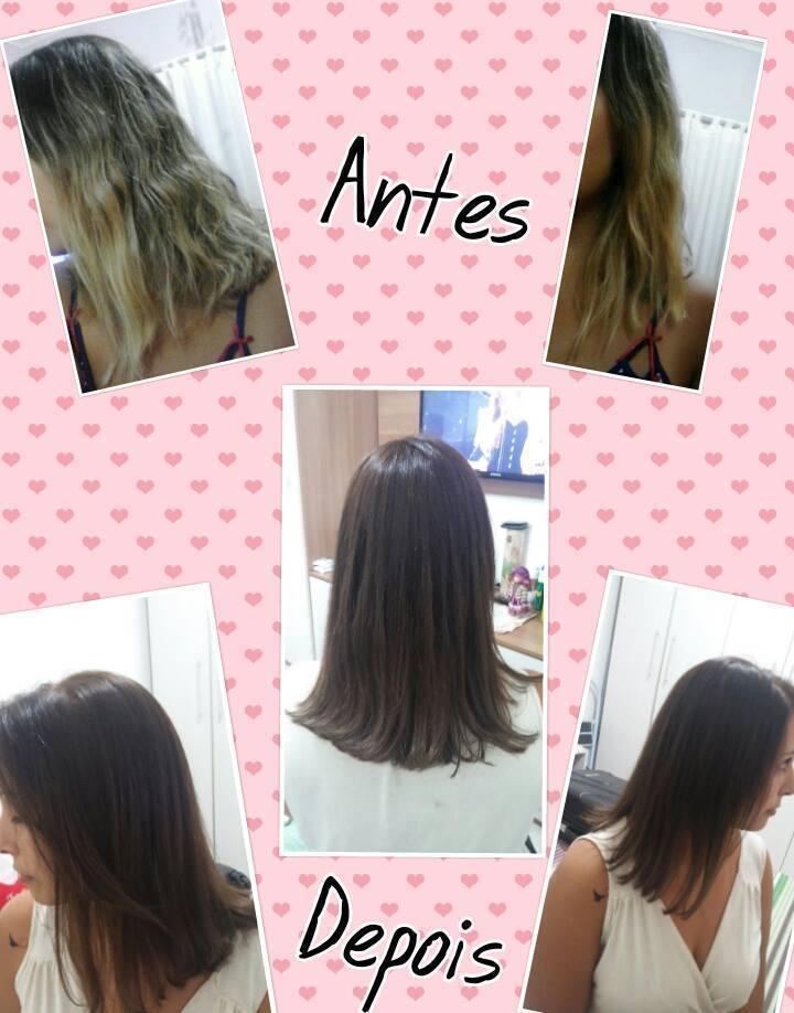 Correção de cor  auxiliar cabeleireiro(a)