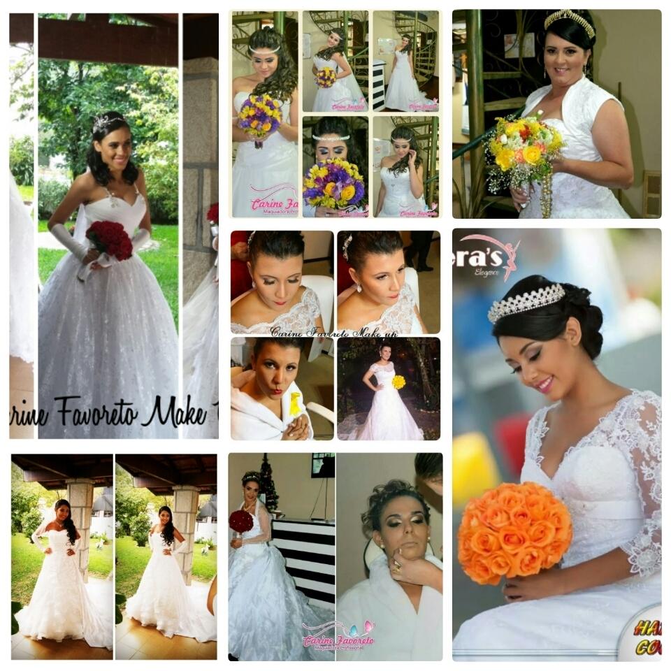 Algumas das noivas que maquiei....  maquiador(a)