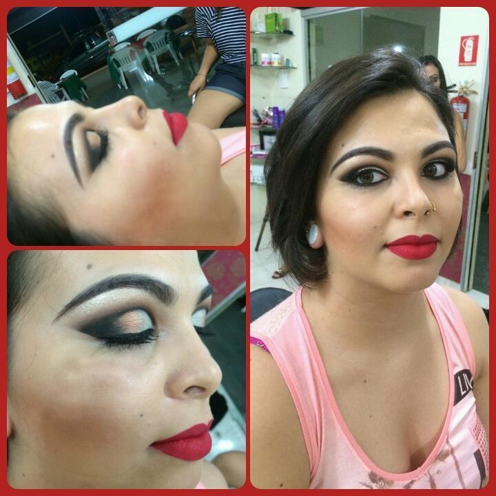 cut crease maquiagem  maquiador(a)