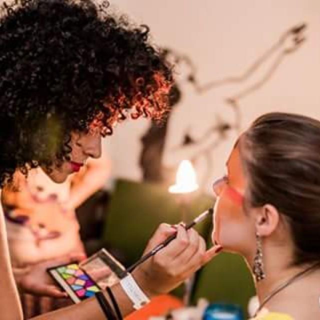 Produção de maquiagem no evento Mientras Dura, em BH maquiador(a) maquiador(a) maquiador(a)