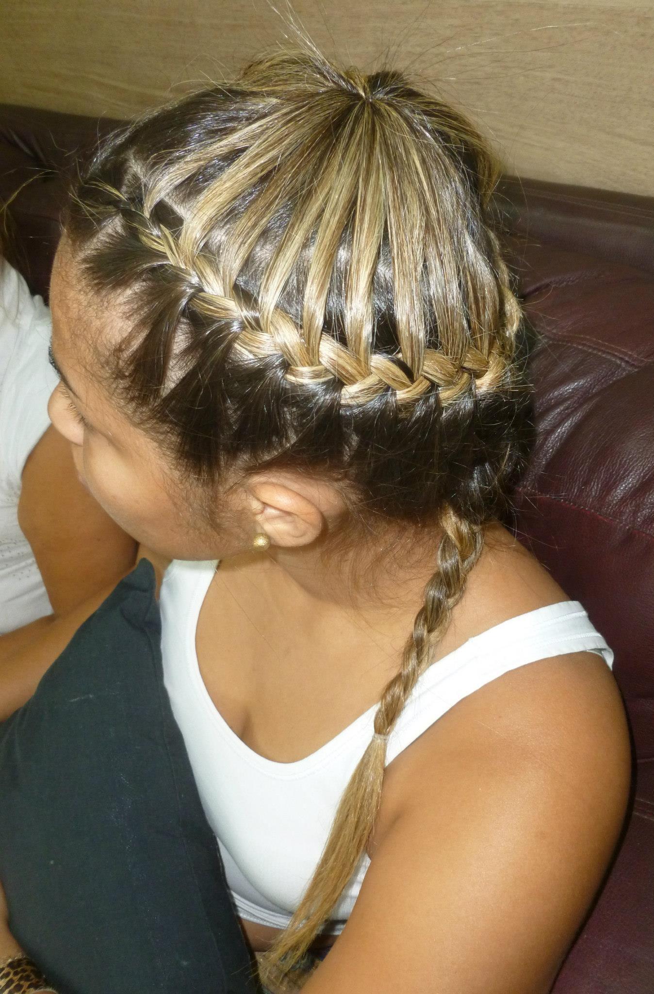 trança cabelo  cabeleireiro(a)