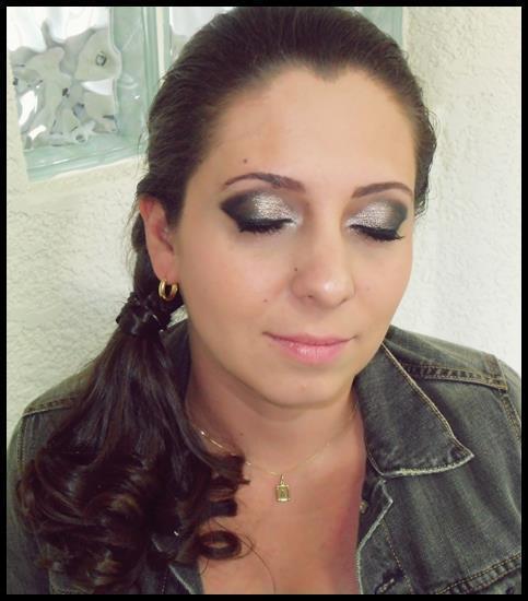 prateado,  maquiagem  maquiador(a) esteticista