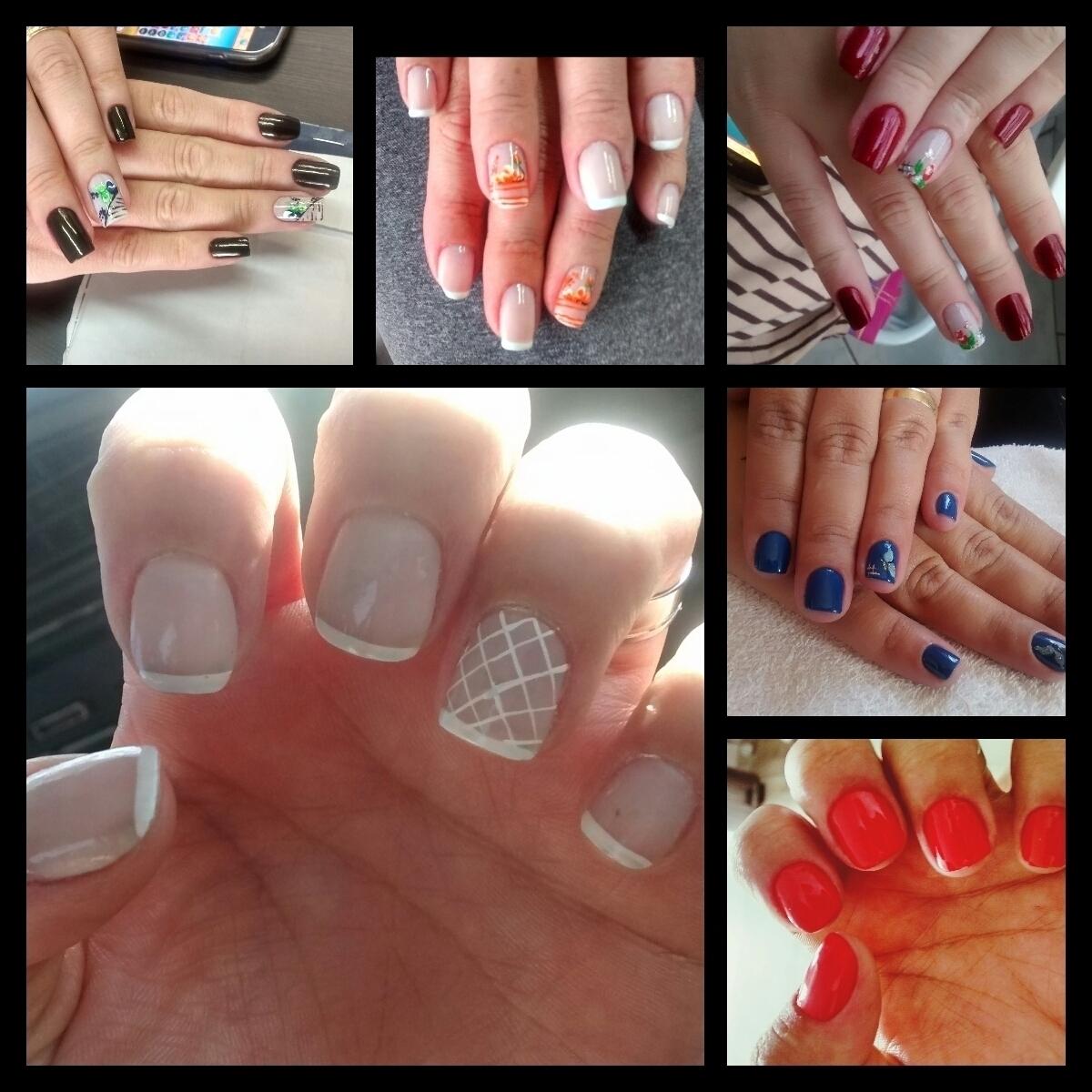 Unhas Foi feito com muita dedicação e fiz o melhor de mim !!! manicure e pedicure atendente