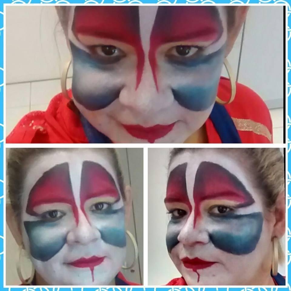 Maquiagem artística efeito luz e sombra maquiador(a) esteticista designer de sobrancelhas