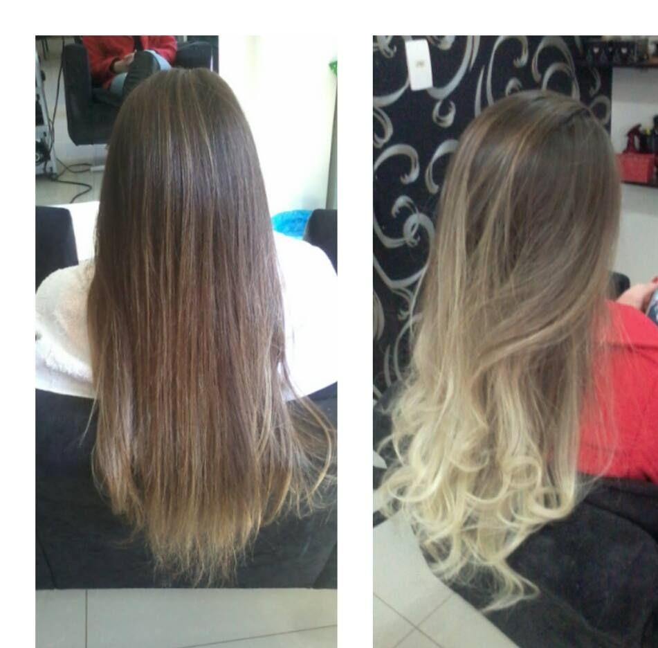 antes e depois ombré hair maquiador(a) cabeleireiro(a) depilador(a) vendedor(a) designer de sobrancelhas outros empresário(a) / dono de negócio