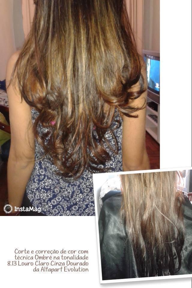 Correção de Cor e corte Cliente Hiper satisfeita!! cabeleireiro(a) dona e proprietária