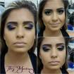 Maquiagens TMMake Colorida TOOP feita na amiga linda Camila! #arrasoou
