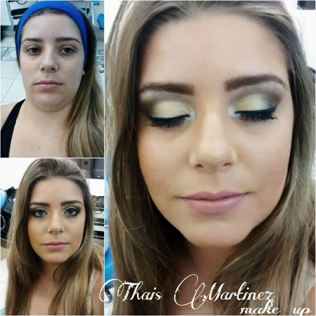 Maquiagens TM Make Antes e Depois super discreta na queridíssima cliente Bruna! Muito Obrigada pela confiança querida ficou lindaaa!  maquiador(a) recepcionista