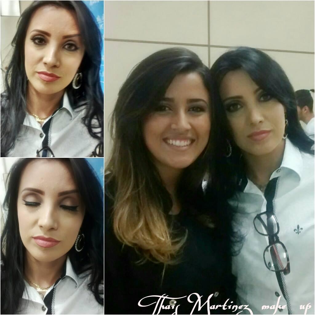 Maquiagens TM Make na estudante linda Bruna para propaganda da Faculdade FSP - Avaré #arrasou lindaa maquiador(a) recepcionista