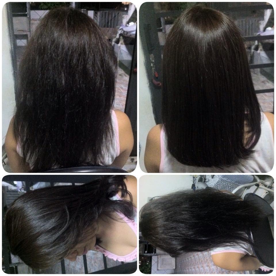 Corte e Botox Capilar cabeleireiro(a) maquiador(a) micropigmentador(a)