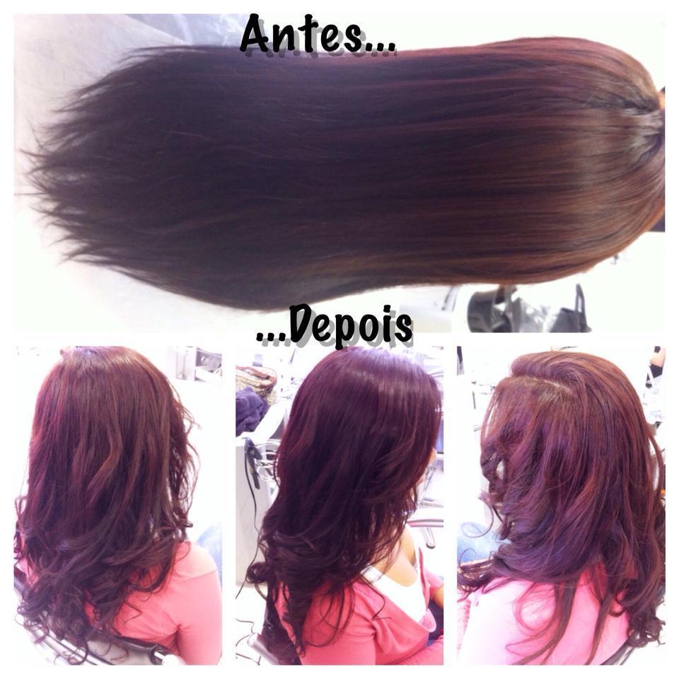 Correção de Cor e Escova Modelada escova, festa, dia-a-dia cabelo  cabeleireiro(a) maquiador(a) micropigmentador(a)