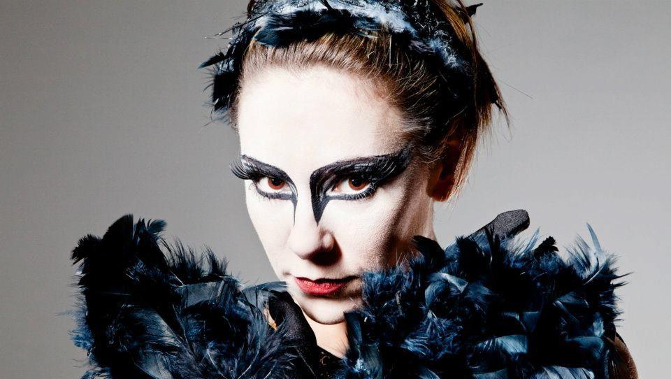 passaro, cisne negro, apresentação, ballet maquiagem  maquiador(a)