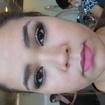 Maquiagem SocialFoi feita uma maquiagem mais leve devido á cliente ir num evento na parte da tarde e a mesma não solicitou tons leves.