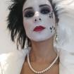 Maquiagem ArtísticaEsta maquiagem artística, foi desenvolvida no tema vilãs da Disney, onde foi inspirada a Cruella.