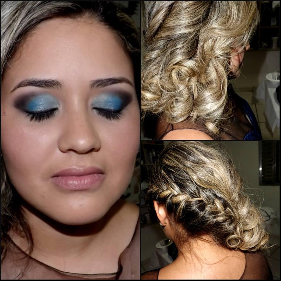 penteado e maquiagem  madrinha de casamento maquiador(a)