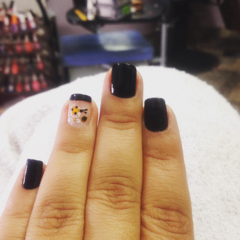 abelha, dia-a-dia, desenho unhas