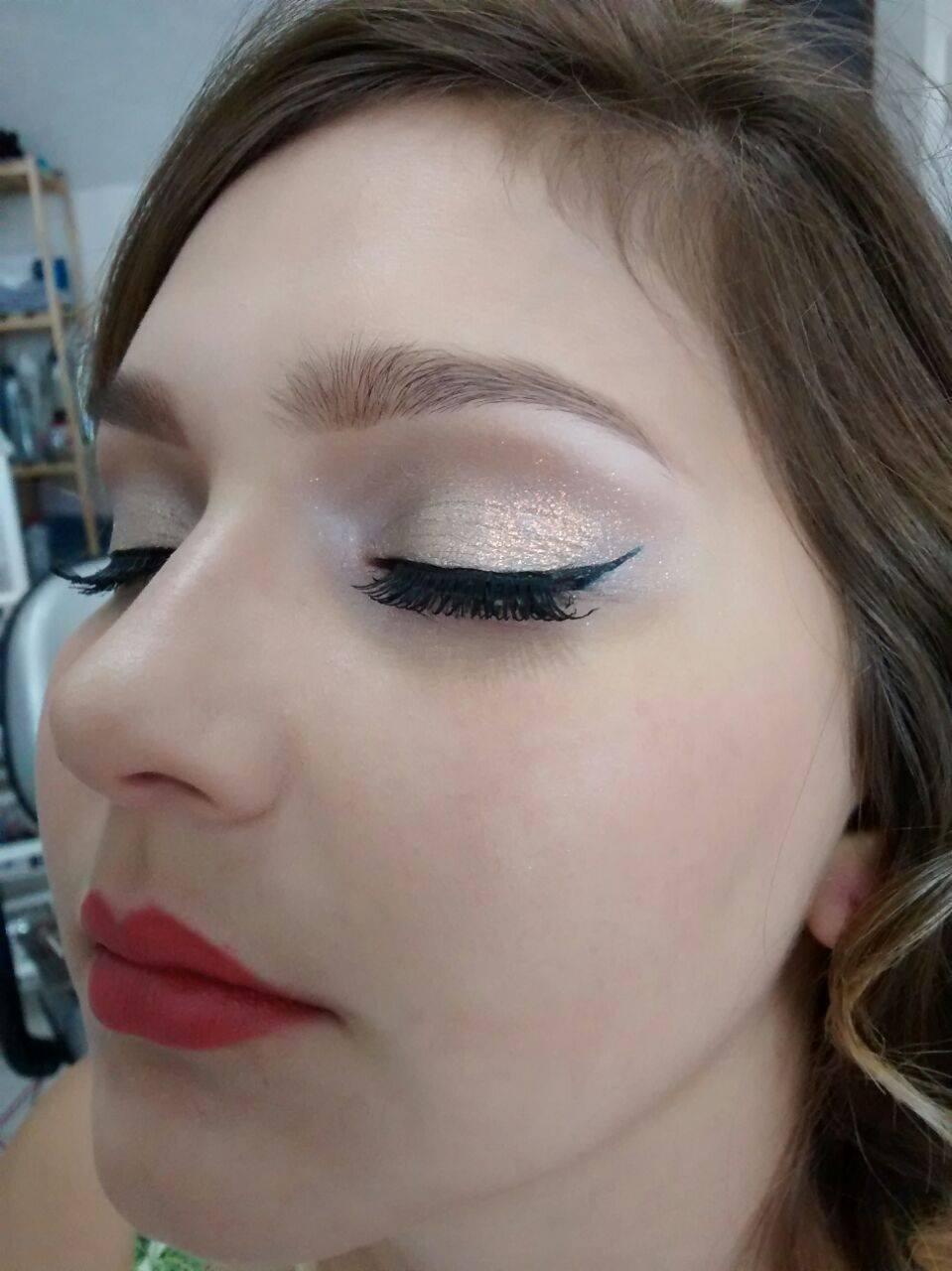 make dia dia a dia, simples, trabalho, ano novo, festa maquiagem  esteticista maquiador(a) designer de sobrancelhas massoterapeuta