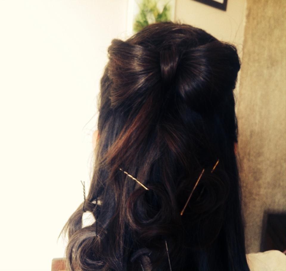 Penteado penteado, selfie, lacinho, casamento cabelo  stylist / visagista