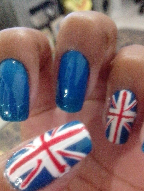 england, unhas decoradas, bandeiras unhas  manicure e pedicure