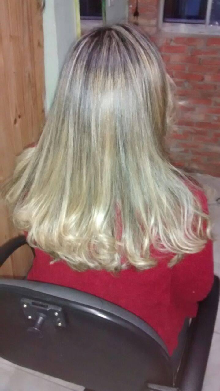 cabelo depois das luzes loiro, luzes, platinado, dia-a-dia cabelo  cabeleireiro(a) manicure e pedicure
