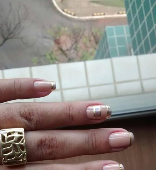 detalhes elegante, simples, casamento, dourado, festa, restaurante, decorada unhas  manicure e pedicure