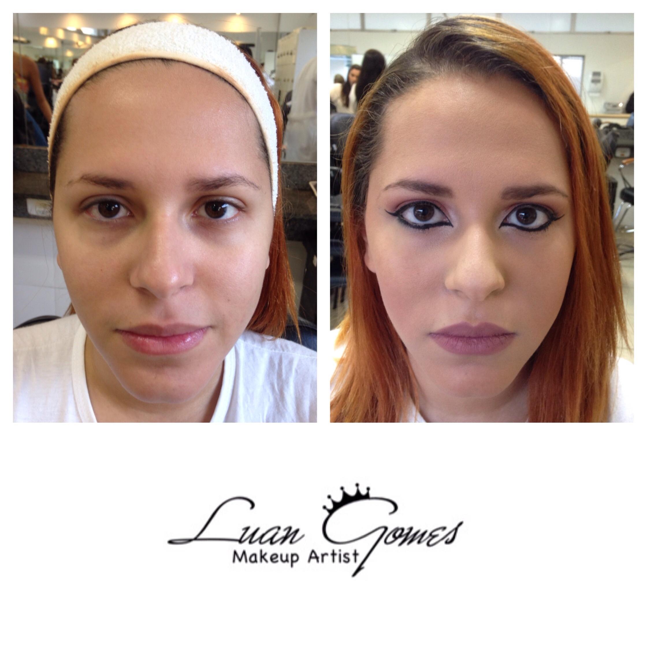 • Maquiagem Social com Panstick maquiador(a)
