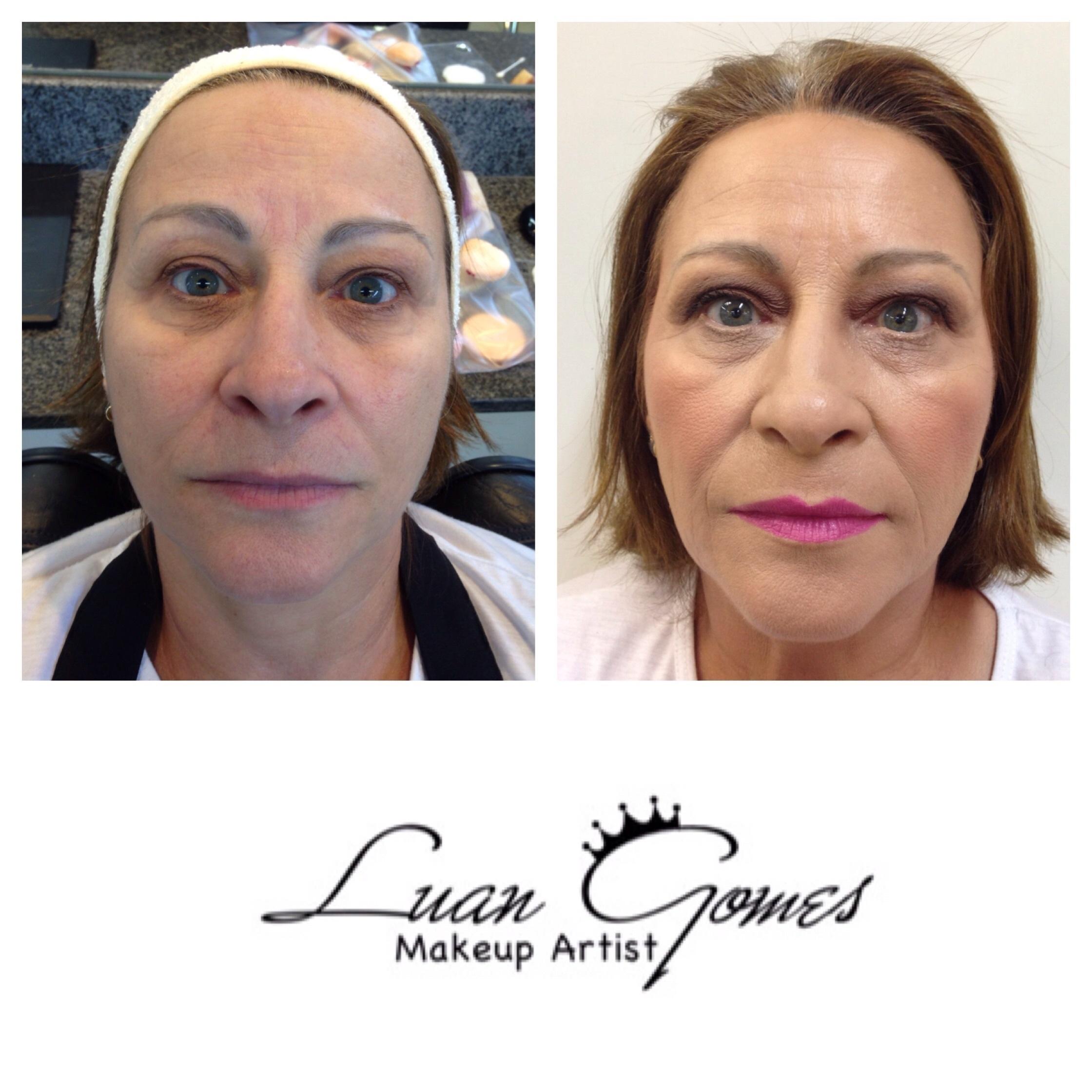 • Maquiagem Social com Panstick em Pele Madura maquiador(a)