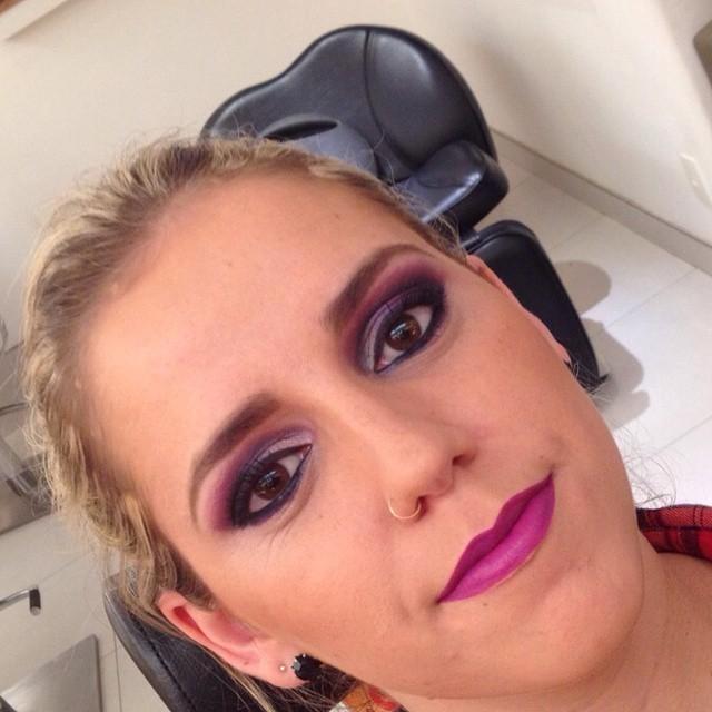noite, festa,  casamento, balada maquiagem  esteticista maquiador(a)