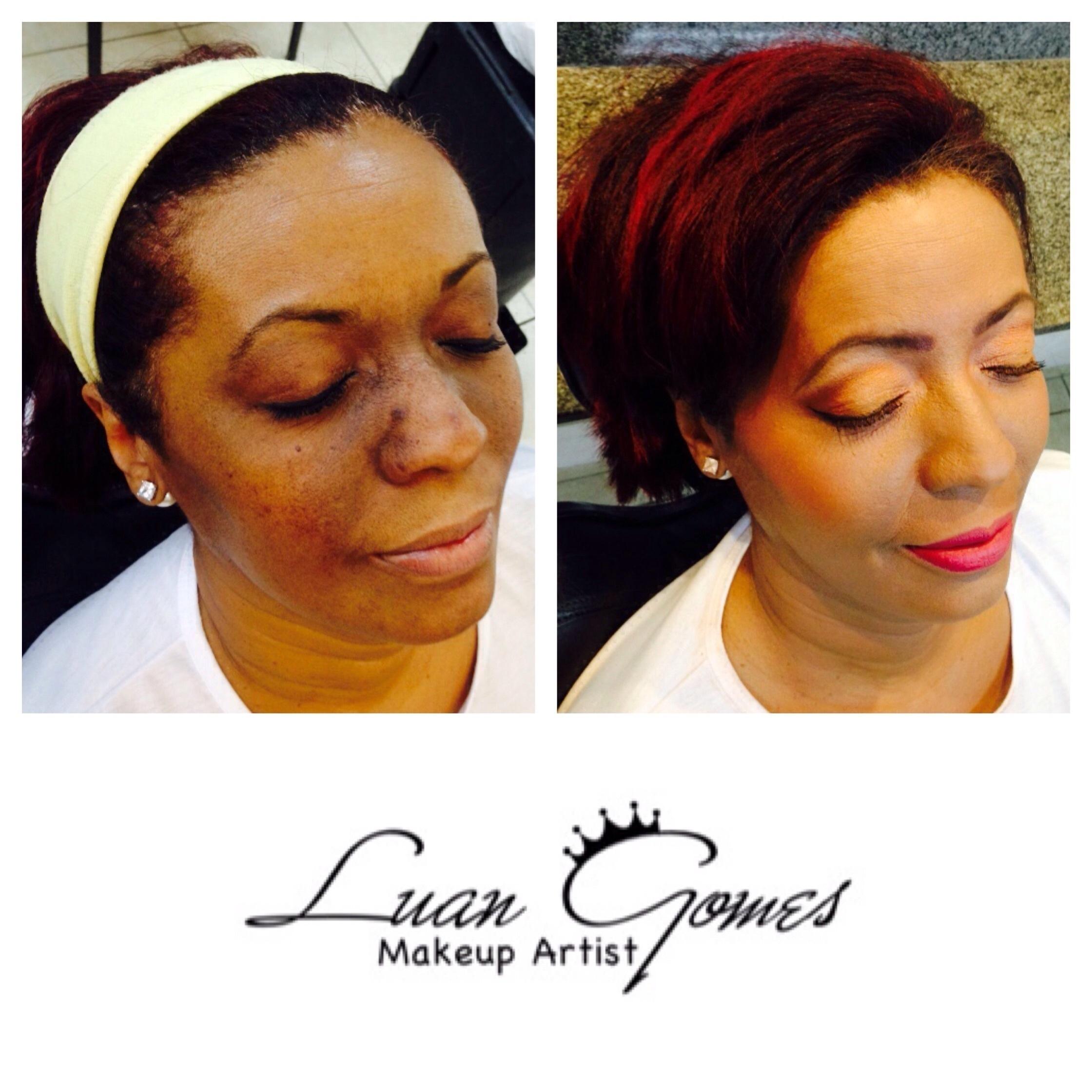 • Maquiagem Social com Panstick em Pele Negra maquiador(a)
