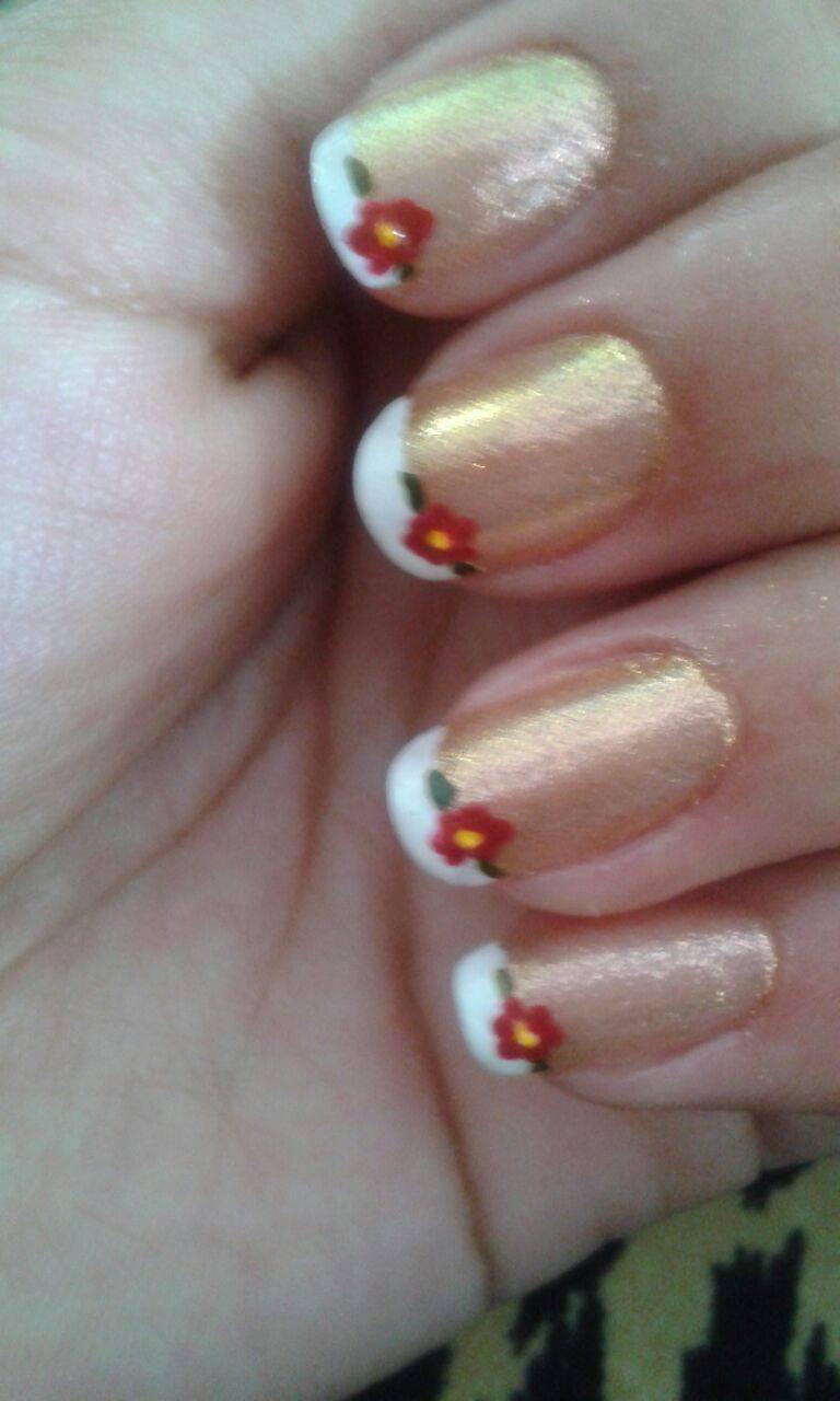 luana unhas  feito em uma cliente manicure e pedicure