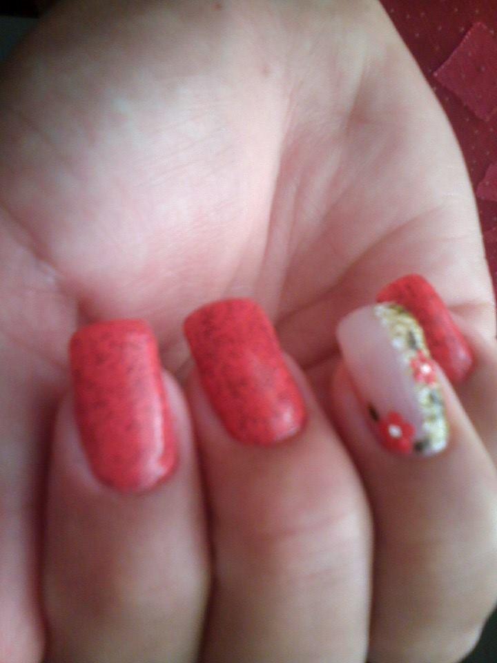 unha de uma cliente,feita por mim manicure e pedicure